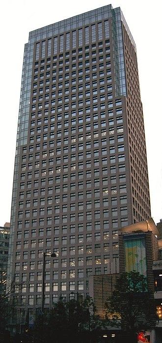KDDI - Headquarters of KDDI in Shinjuku