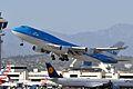 KLM Royal Dutch Airlines, Boeing 747-406(M), PH-BFE - LAX (18294405380).jpg