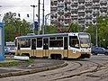 KTM-19 tram in Moscow near VDNH.jpg