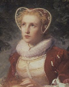 Kaarina Månsdotter in a detail from the original painting Erik XIV and Karin Månsdotter.jpg