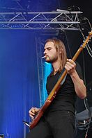 Kadavar (German Psychedelic Rock Band) (Krach Am Bach 2013) IMGP8815 smial wp.jpg
