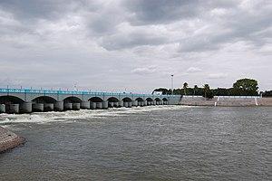 Kallanai Dam - Image: Kallanai