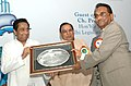 Kamal Nath presenting the Lifetime Achieve Award to Shri Arun Mehta on the occasion of the 34th Annual Awards Function of Gem & Jewellery Export Promotion Council (GJEPC), in New Delhi on October 05, 2007.jpg