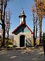 Kapliczka murowana z roku 1957 w Jachówce.jpg