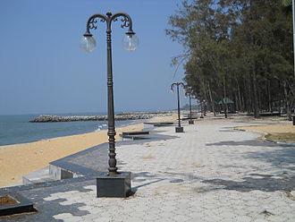 Kozhikode district - View of Kappad beach