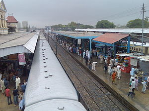 Karachi Cantonment railway station - Track of Cantt Station