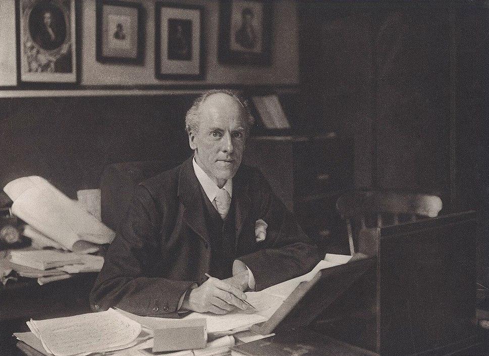 Karl Pearson, 1910