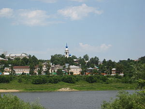 Kasimov - The Oka River in Kasimov