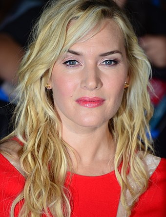 Winslet attending the premiere of Divergent in 2014 Kate Winslet March 18, 2014 (cropped).jpg