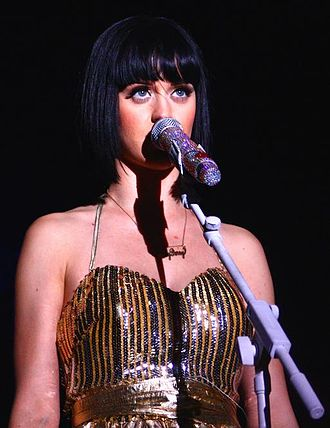 Hello Katy Tour - Perry performing in Detroit, Michigan on March 27, 2009