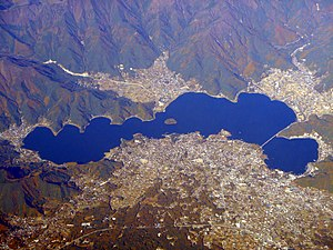 Lake Kawaguchi - Image: Kawaguchi Ko