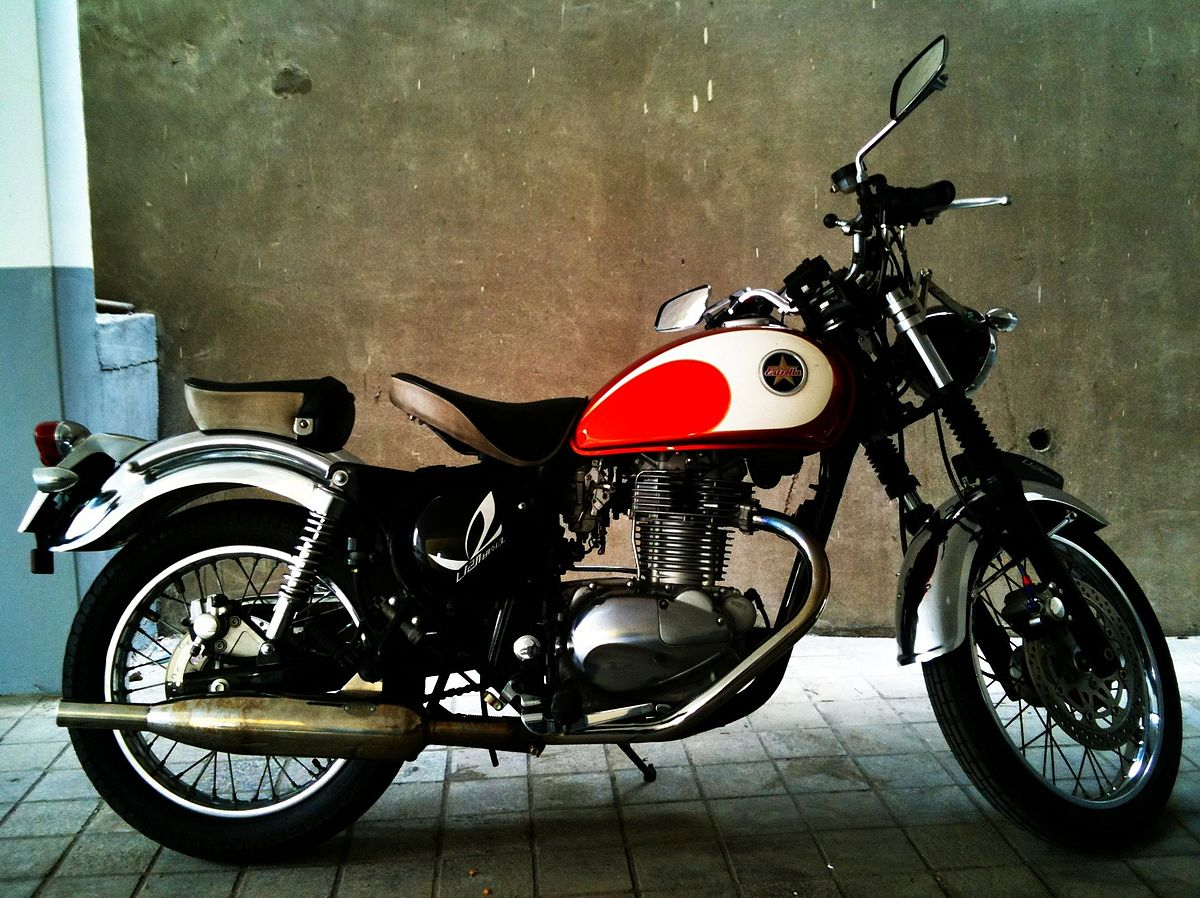 Kawasaki Estrella - Wikipedia