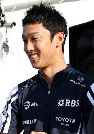 Kazuki Nakajima - Nakajima at the 2009 Japanese Grand Prix