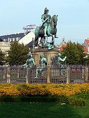 Equestrian statue of Christian V