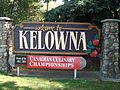 Kelowna's welcome sign.JPG
