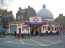 Kennington station building