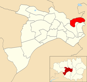 Kersal - Kersal electoral ward within Salford City Council.