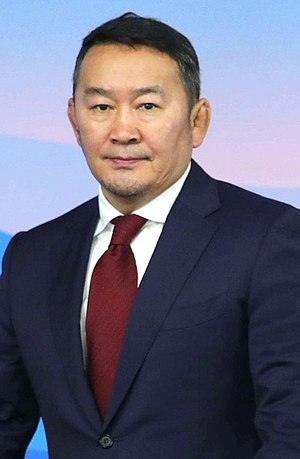 President of Mongolia - Image: Khaltmaagiin Battulga (2017 09 07)