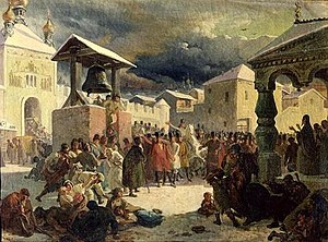 Novgorod Republic - The Veche in Novgorod,  by Vasily Khudyakov
