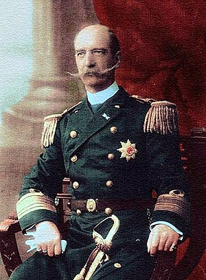 George I of Greece - George I in the uniform of an Admiral of the Royal Hellenic Navy