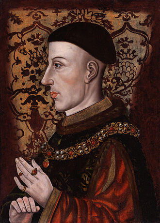 Henry V of England - Posthumous portrait of Henry