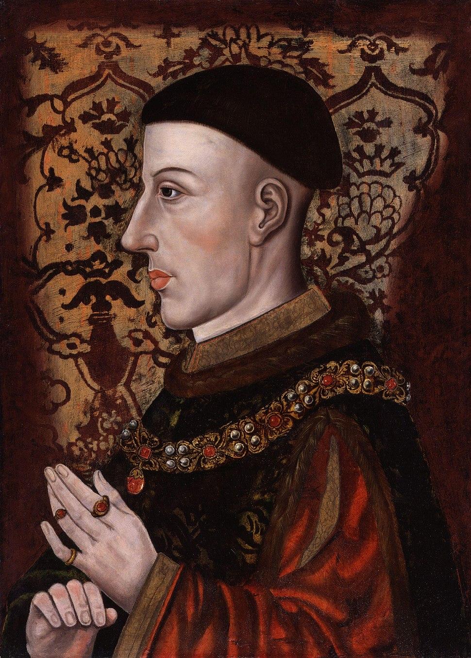 King Henry V from NPG