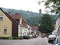 Kirkel Ortszentrum Blick auf Burg 02.JPG