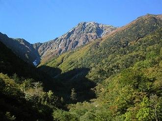Mount Kita - Image: Kitadake