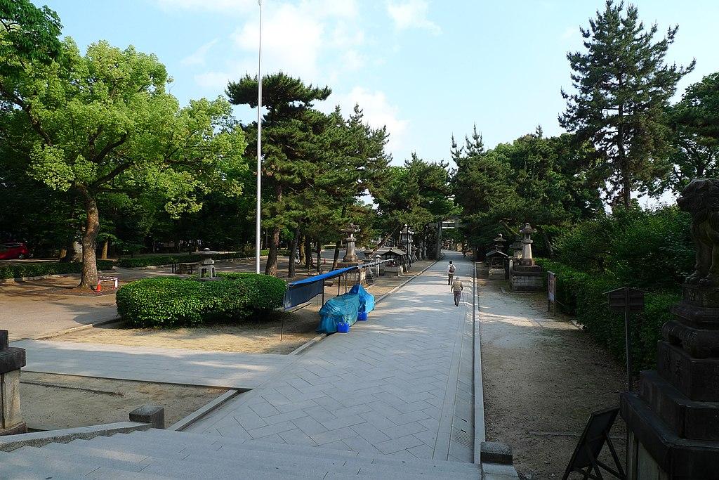 Kitano Tenmangu shrine 1