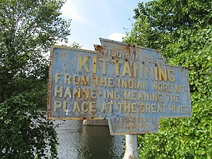Kittanning, Pennsylvania - Keystone Marker for Kittanning