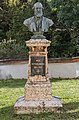 Klagenfurt Viktring Stein Friedhof Bueste des Max Ritter von Moro 03102016 4523.jpg