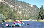 Rafting on the Klamath in Southern Oregon