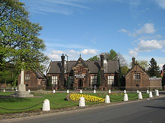 Knowsley, Merseyside - Image: Knowsley Village Green