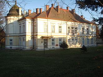 Košice-Barca - Image: Košice Barca Zichy Manor House