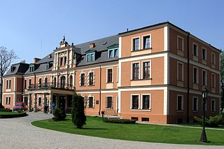 Kobierzyce Village in Lower Silesian Voivodeship, Poland