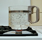 Wasserdampf wikipedia - Warmflasche kochendes wasser ...