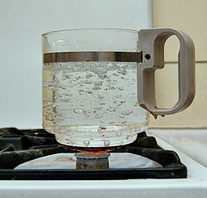 Atmospheric pressure - Boiling water