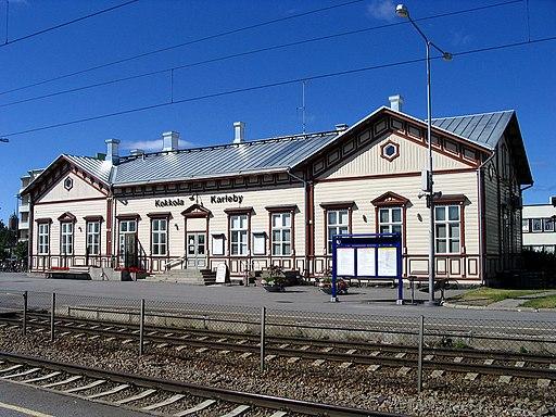 Kokkola railway station 2