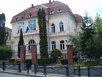 Babeș-Bolyai University - Image: Kolozsvar BBTE Pszichologia Kar