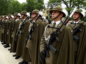 Marsz Generalski - The march is the official slow march of the Representative Honor Guard Regiment of the Polish Armed Forces (seen here).