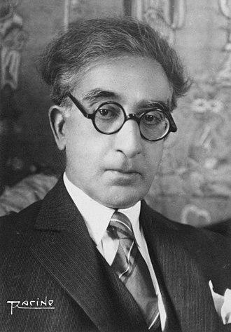 Constantine P. Cavafy - Constantine Cavafy in 1929