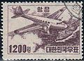 Korea airmail stamp 1200won.JPG