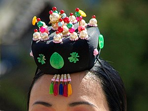 Jokduri - Image: Korean headgear Jokduri 01A