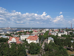 Kotka - The centre of Kotka