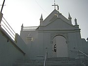 The Knanaya Syrian Orthodox Valia Palli (St. Mary's Church) in Thazhathangadi, Kottayam. Built in 1550 AD, it hosts an 8th-century Persian cross and Sassanid Pahlavi inscriptions.