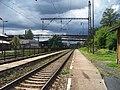 Králův Dvůr, nádraží, pohled k Plzni (01).jpg