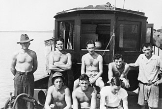 Z Special Unit - Crew of the MV Krait during Operation Jaywick, 1943