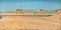 Kristian Zahrtmann - Strand ved Bocca d'Arno, Pisa - 1893.png