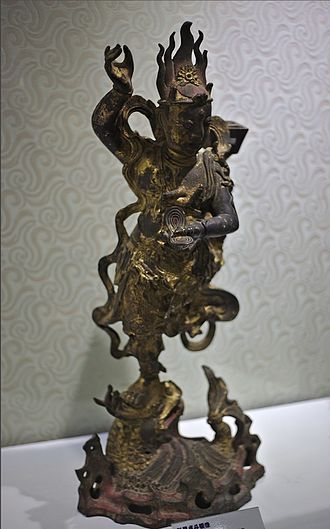 Kui Xing - Bronze statue of Kui Xing, late Ming Dynasty.