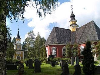 Kuortane - Old church in Kuortane